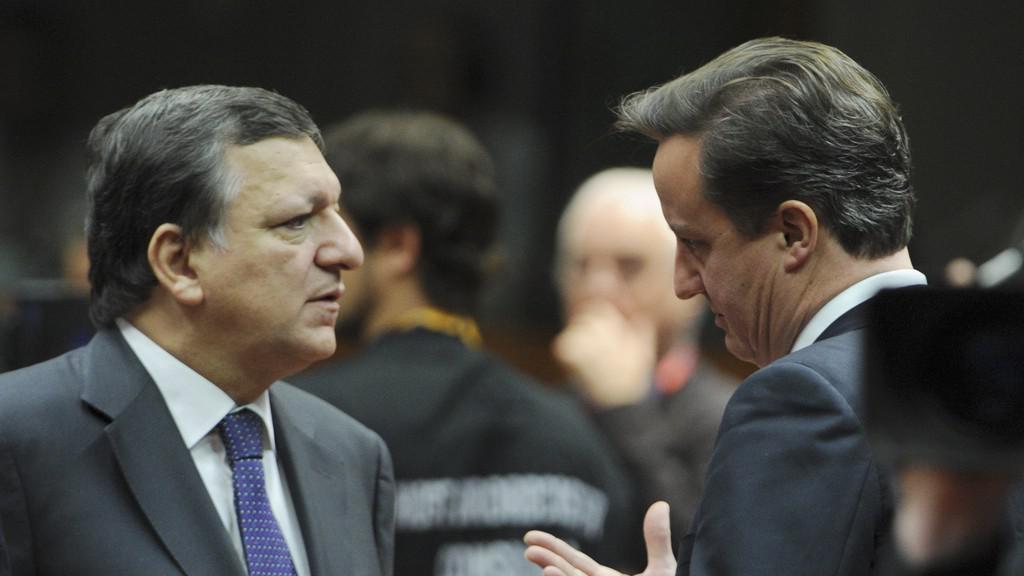 José Barroso a David Cameron