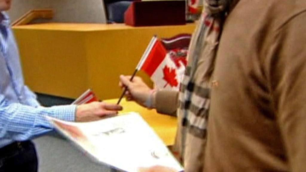 Přijetí kanadského občanství