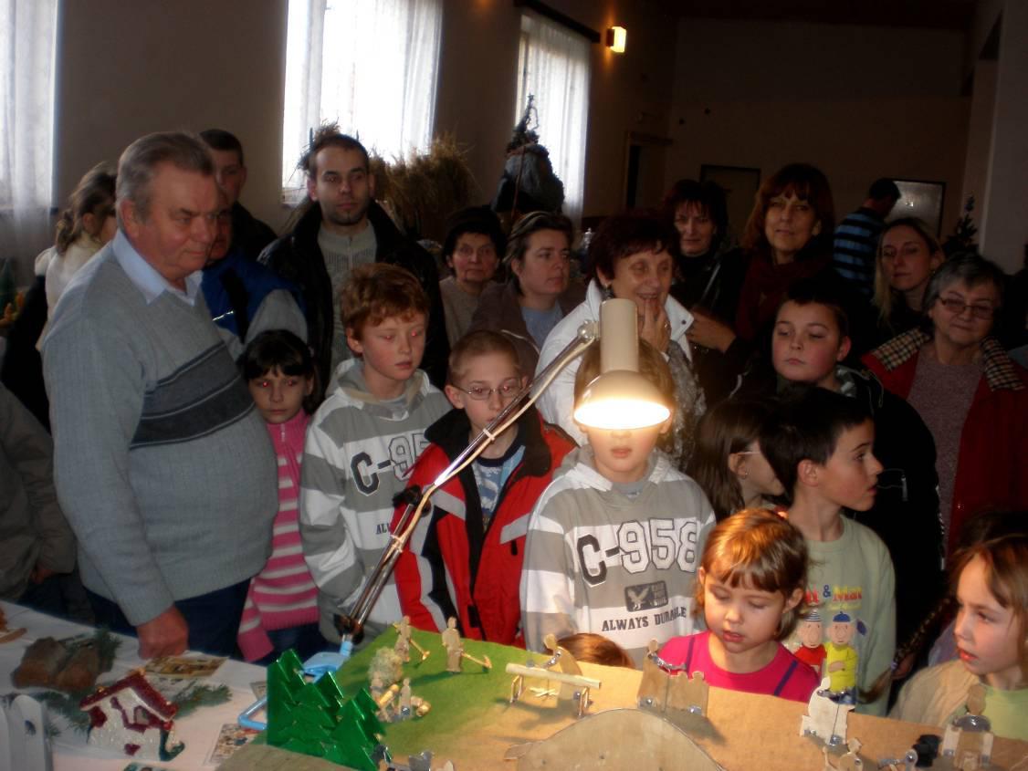 Pan Jaroš a jeho betlém