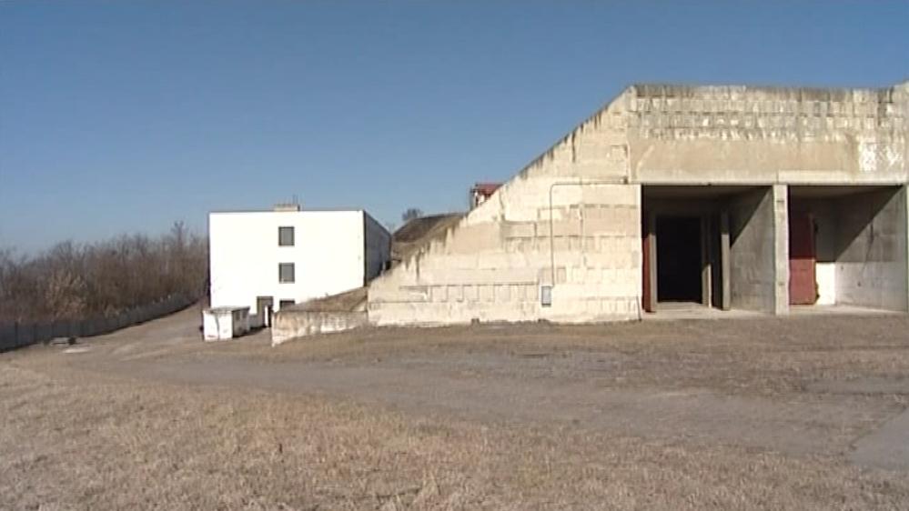 Bývalý armádní areál v Újezdu u Brna