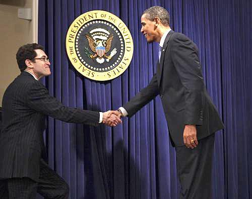 Norman Eisen a Barack Obama