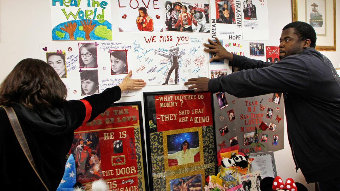 Předměty z rezidence Michaela Jacksona v Bel Air