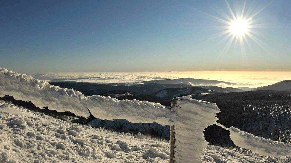 Krkonoše - Na Sněžce