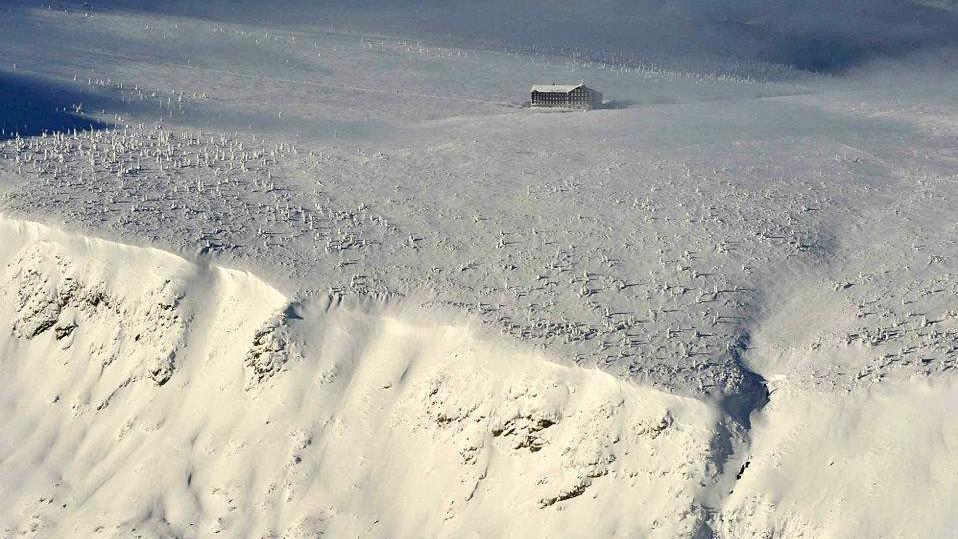 Krkonoše - Luční bouda a hrana Obřího dolu
