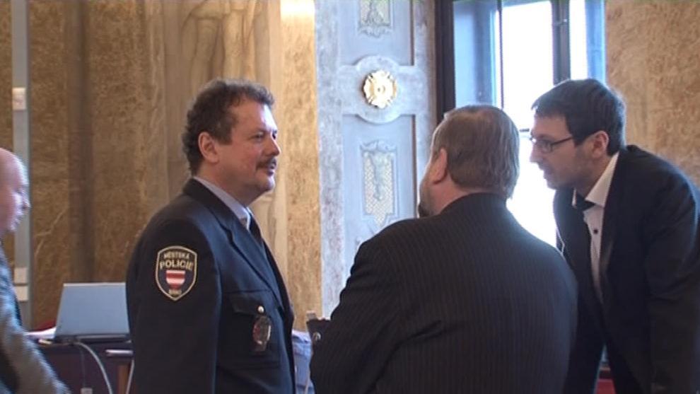 Ředitel Městské policie Brno Jaroslav Přikryl