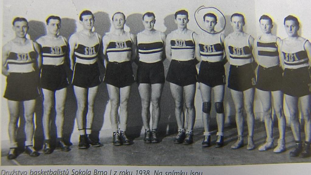 Basketbalisté Sokola Brno 1938