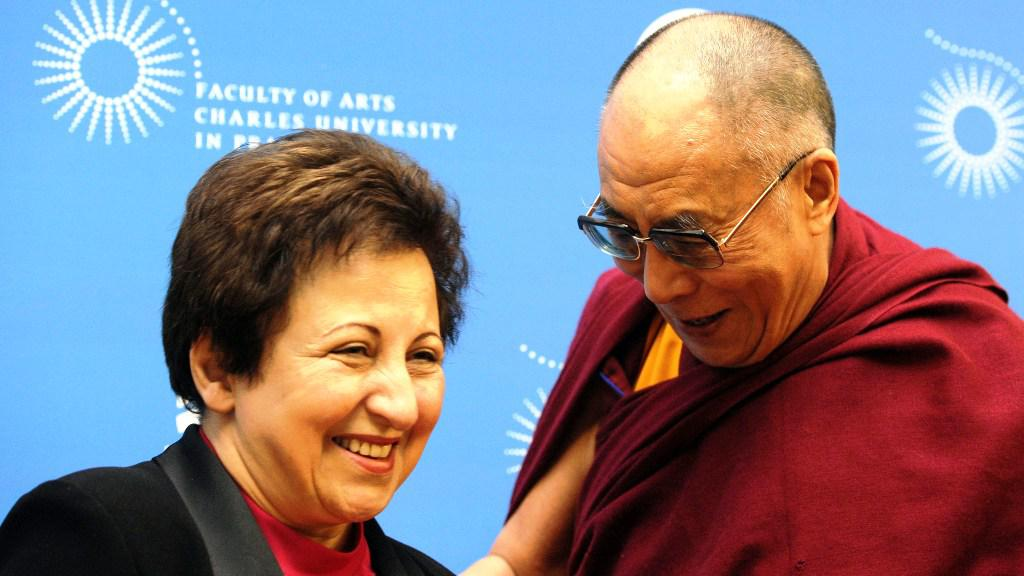 Dalajlama a Širín Ebadíová