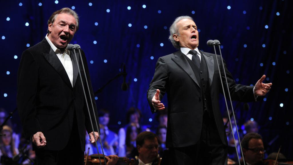 Karel Gott a José Carreras (zleva)