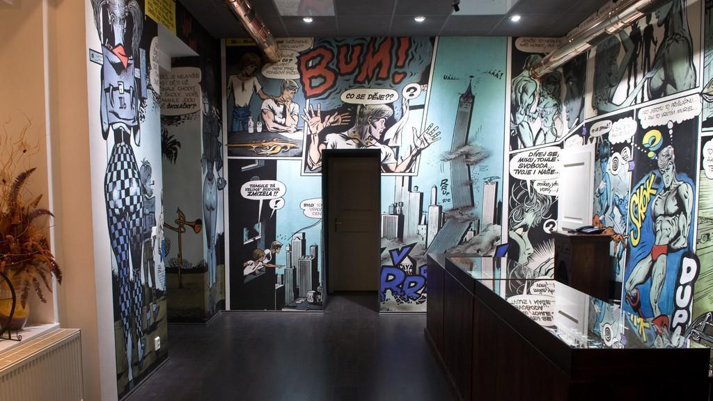 Comicsmuseum Káji Saudka