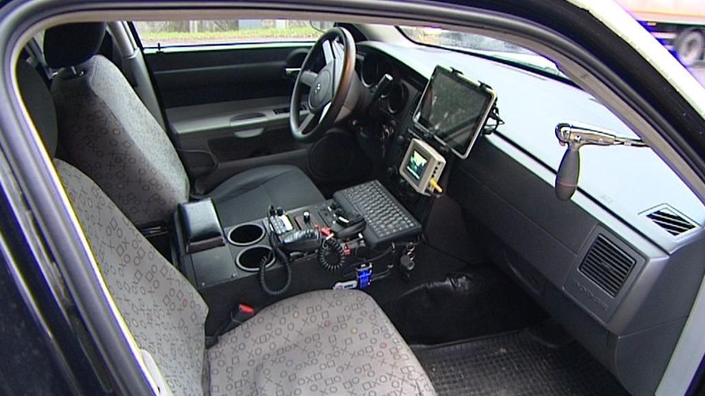 Nový vůz strážníků v Lázních Bohdaneč