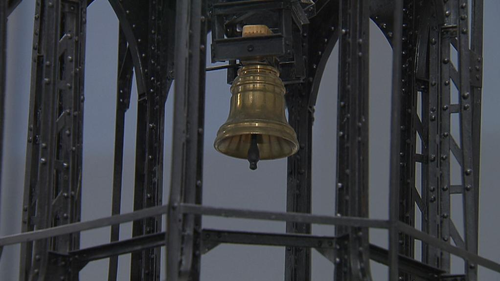 Model železného krovu chrámu sv. Víta