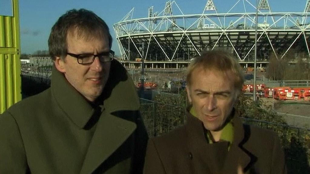 Underworld před stavbou olympijského stadionu v Londýně