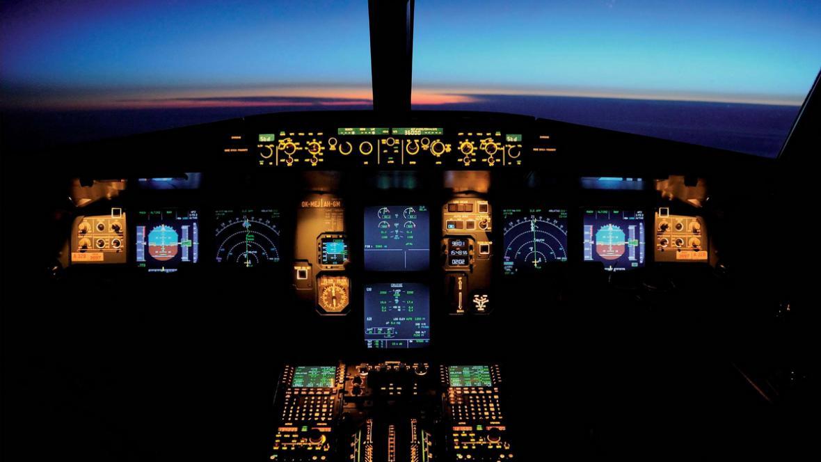 Kokpit letadla