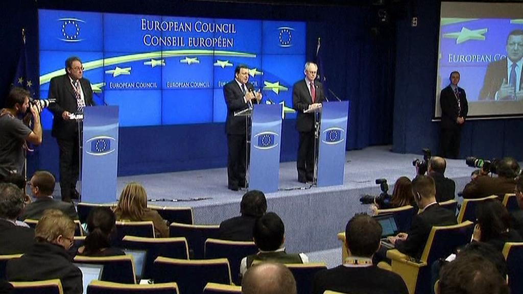 Summit EU k dluhové krizi