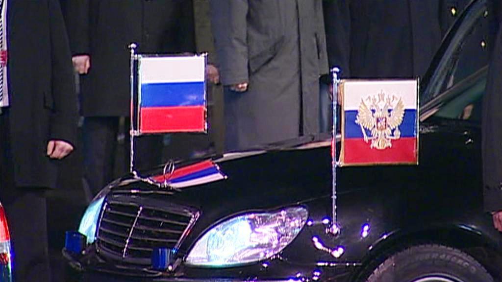Limuzína Dmitrije Medvěděva
