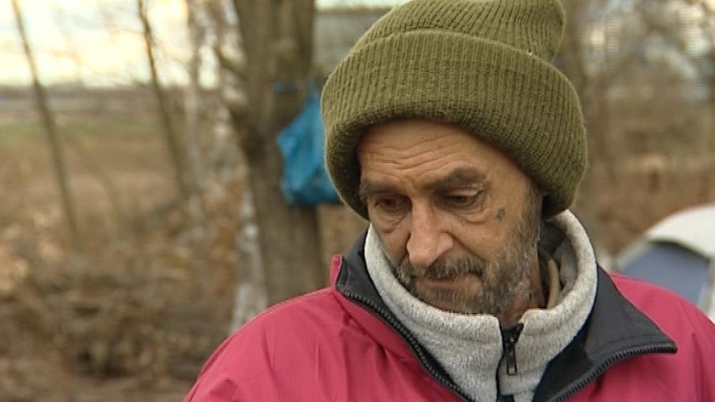 Bezdomovec z Vnorov