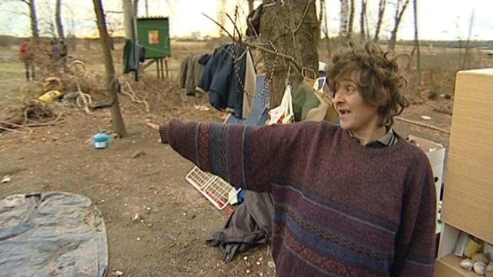 Bezdomovkyně z Vnorov