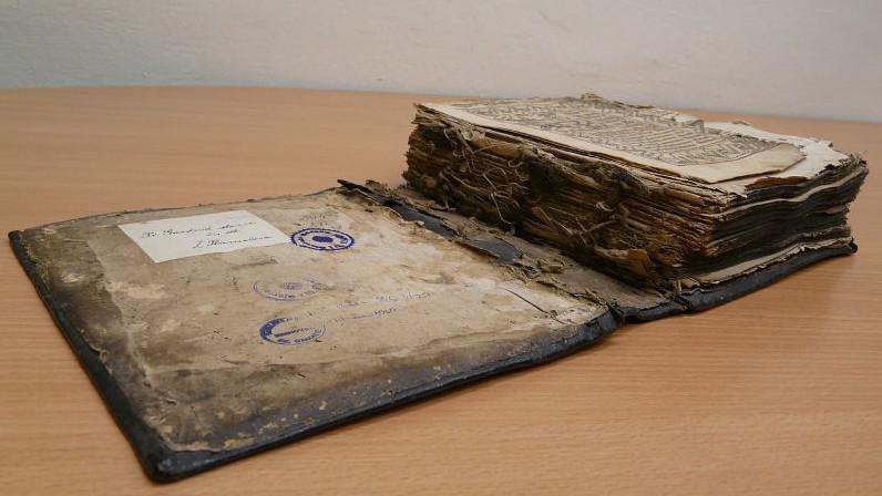 Bible před renovací