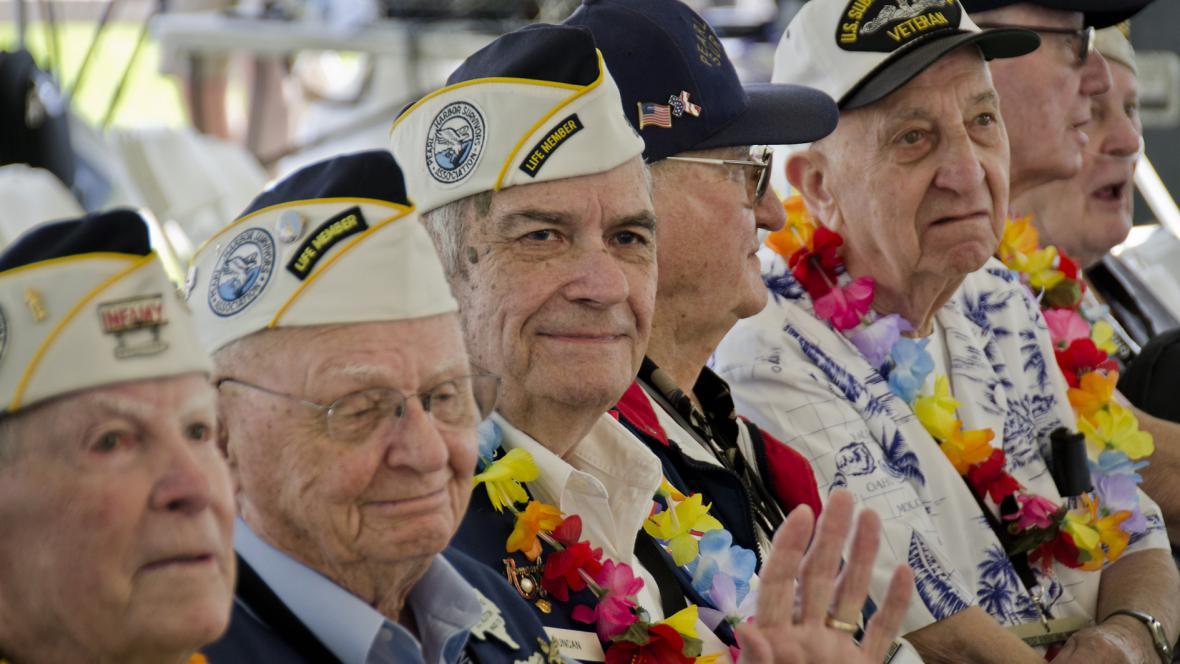 Veteráni z Pearl Harboru