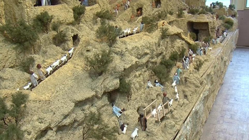 Betlém zabírá 140 metrů čtverečních