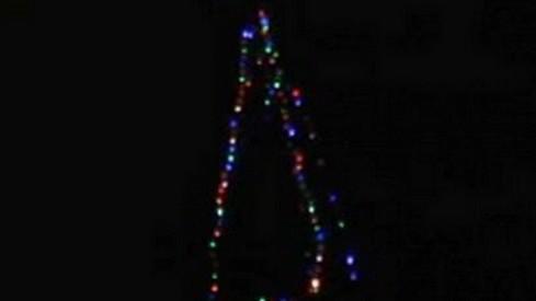Vánoční strom v Hejnicích