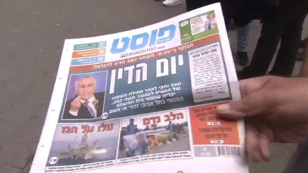 Izraelský tisk o Moše Kacavovi