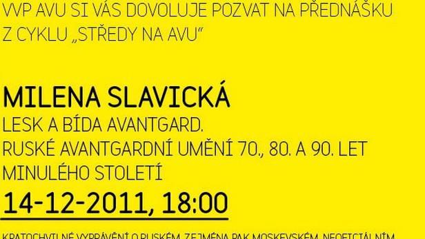 Středy na AVU / Milena Slavická