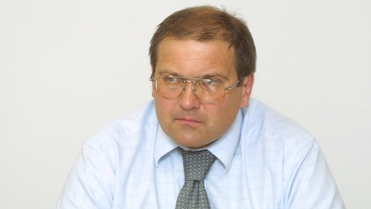 Ředitel České inspekce životního prostředí Jan Slanec