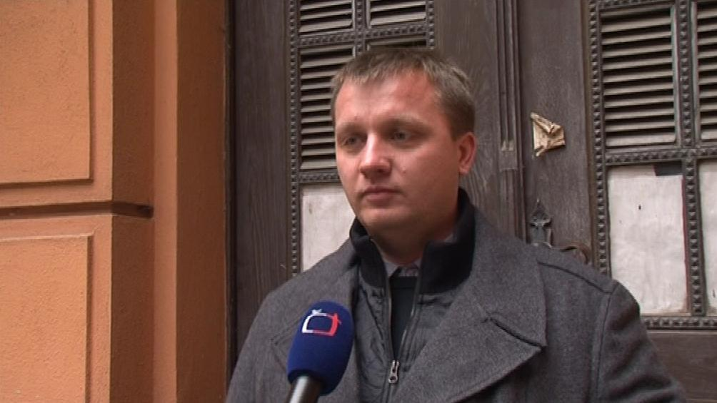 Obžalovaný řidič Pavel Domša