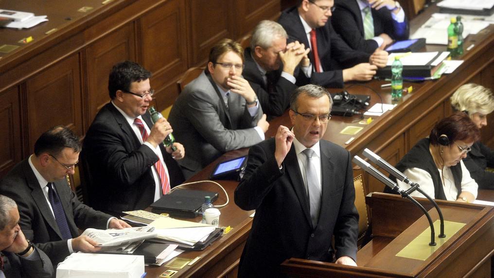Vláda ve sněmovna