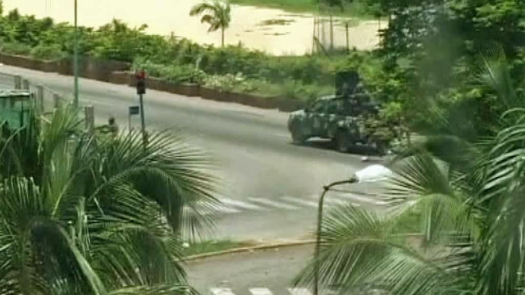 Povolební násilí v Pobřeží slonoviny