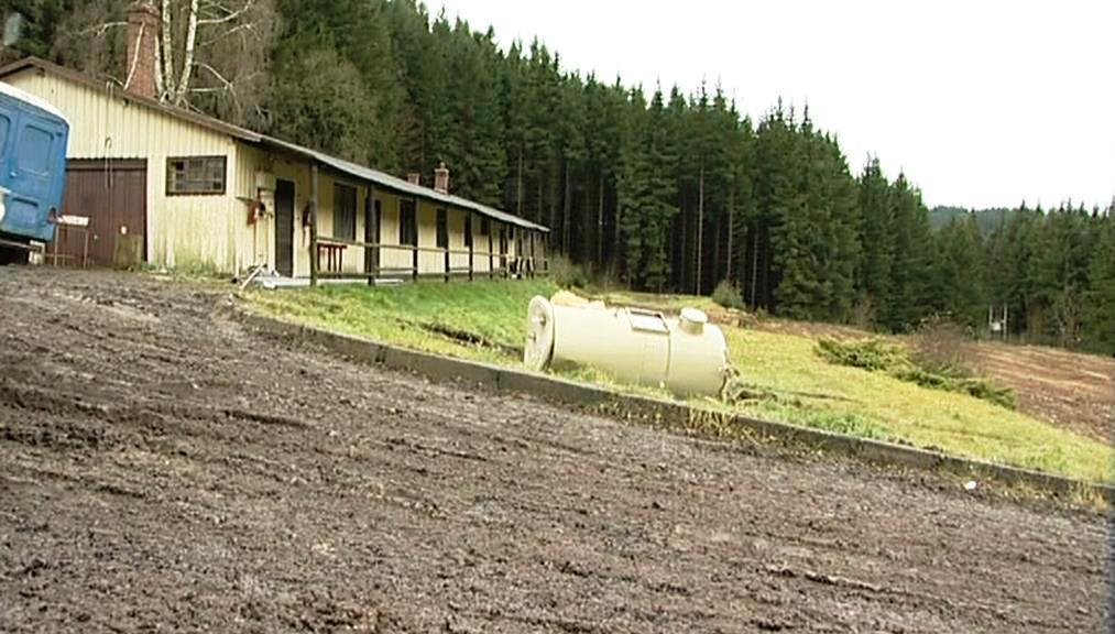 Bývalý rekreační areál Žalov