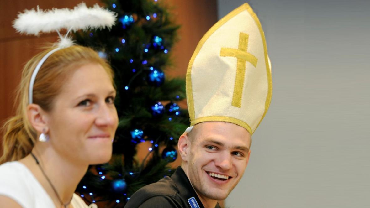 Mirka Knapková a Ondřej Synek