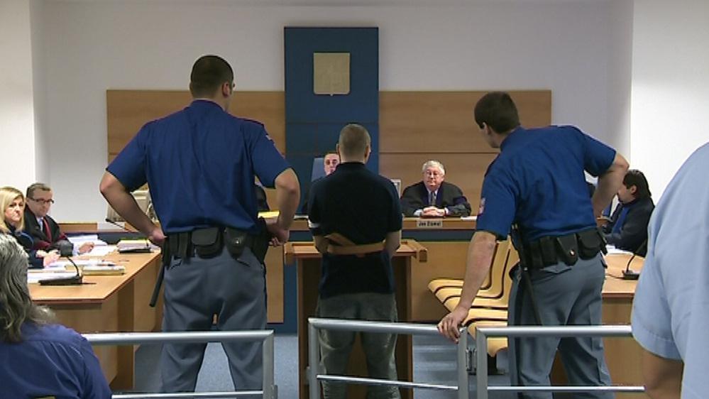 Lukáš Kopecký před krajským soudem