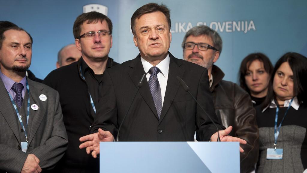 Starosta Lublaně Zoran Janković - vítěz předčasných voleb