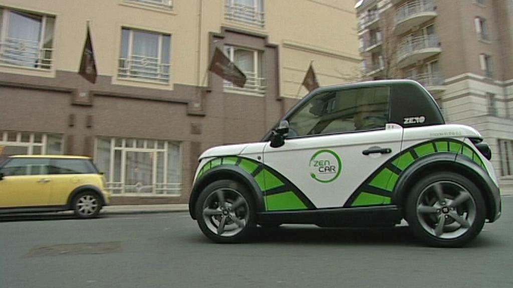 Bruselské elektromobily společnosti Zen Car