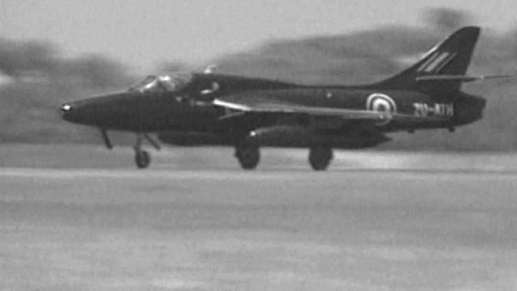 Stíhačka Hawker Hunter