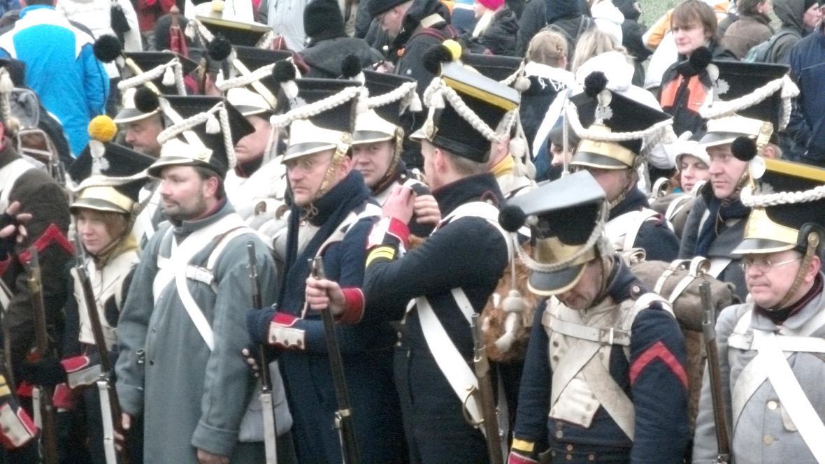 Rekonstrukce bitvy u Slavkova