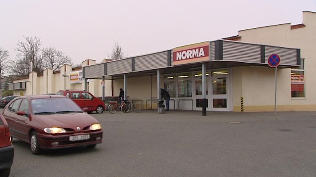 Rokycanský supermarket Norma