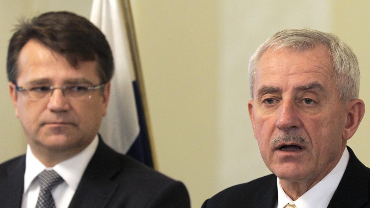 Ivan Uhliarik a Leoš Heger