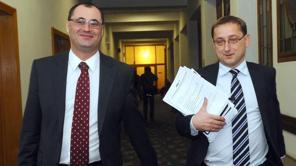 Boris Šťastný a Rudolf Blažek