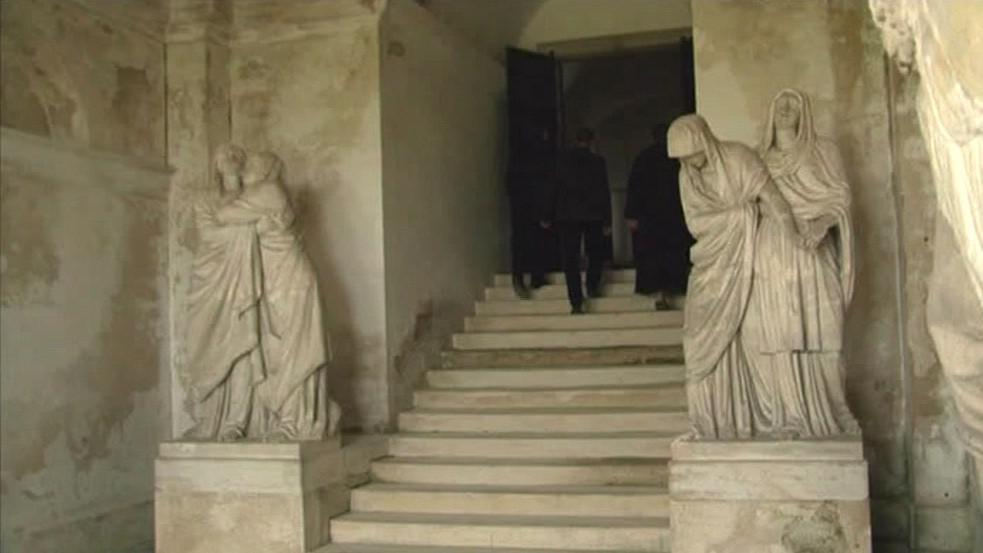 Vstup do hrobky Lichtenštejnů