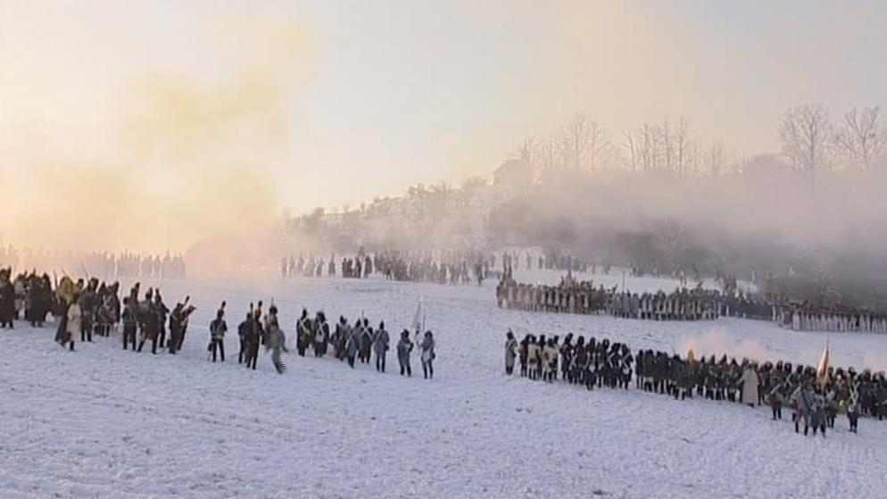 Rekonstrukce bitvy u Slavkova 2010