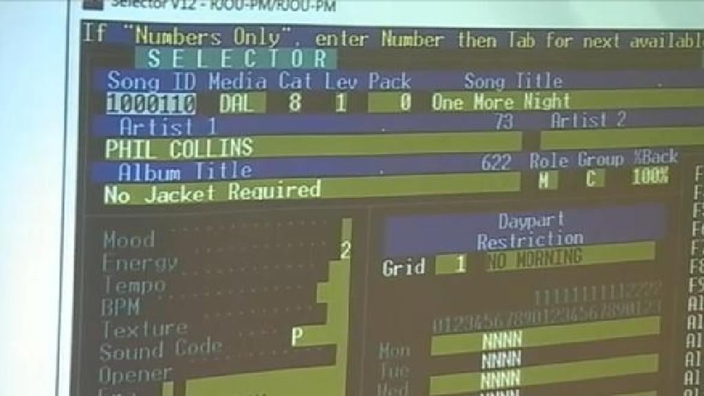 Hudební software Selector