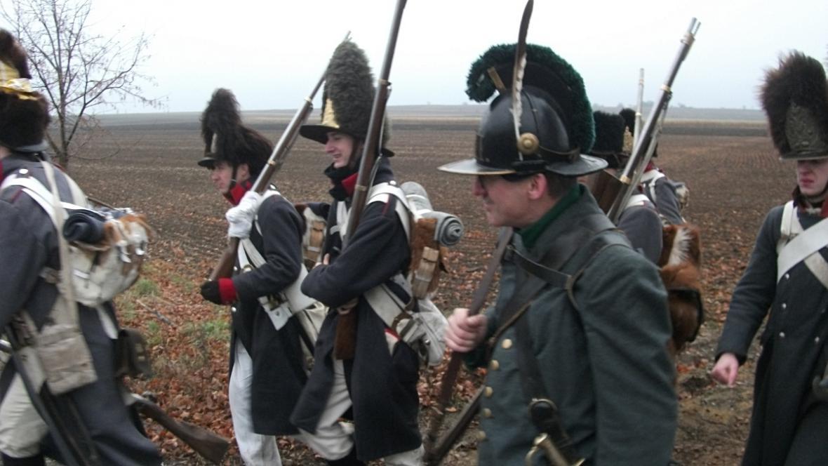Vojáci se připravují na sobotní bitvu