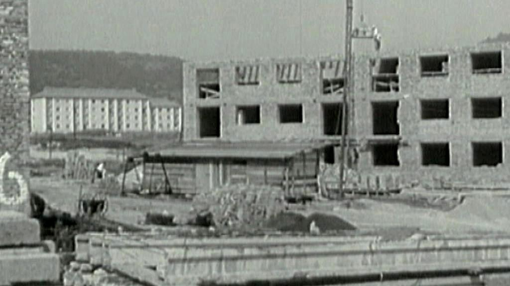 Stavba panelového domu