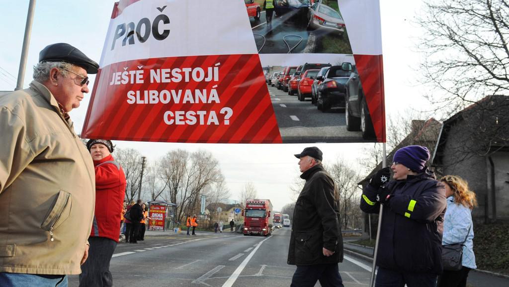 Blokáda silnice I/11