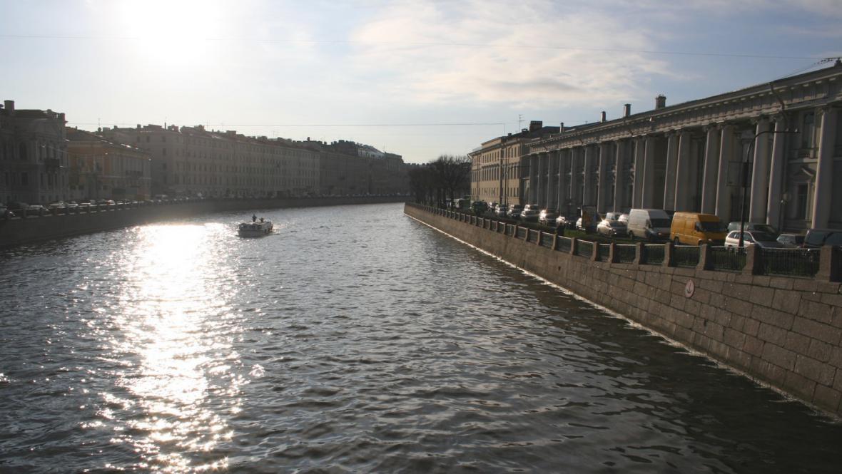 Kanály Petrohradu