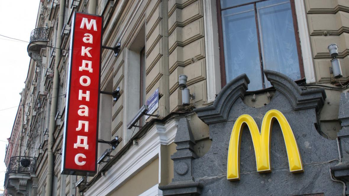 Petrohradský McDonalds