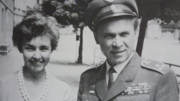 Manželé Šiškovi v 60. letech